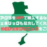 バイアグラを神戸で購入するなら?ジェネリックも処方してくれるおすすめED治療クリニックをご紹介!